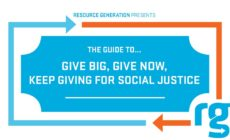 Give Big, Give Now, Keep Giving for Social Justice