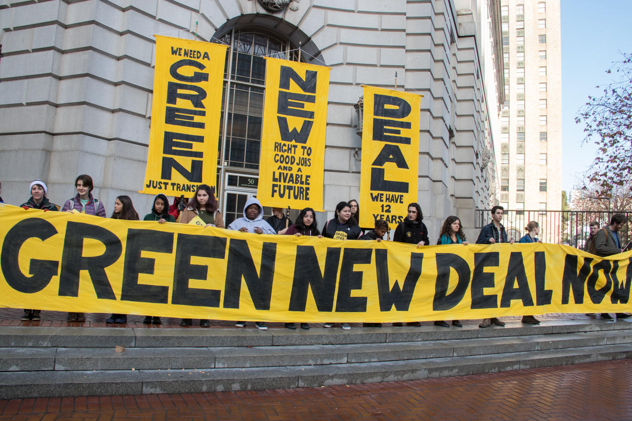 That Green New Deal Energy