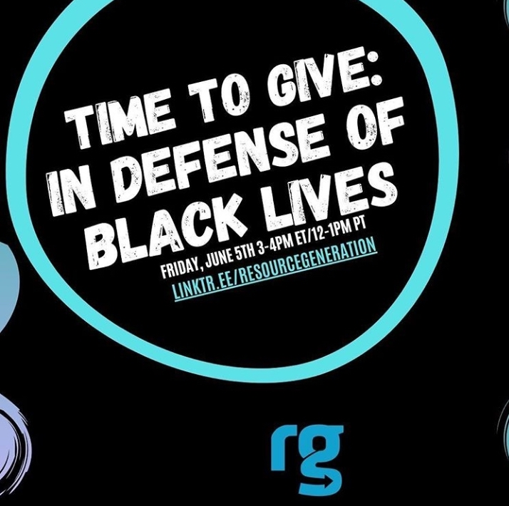 Collective Action and Giving In Defense of Black Lives